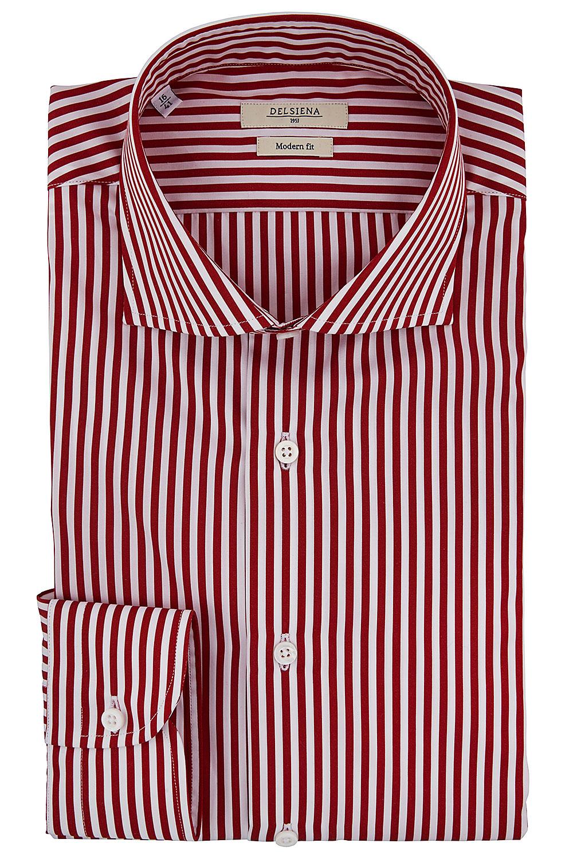 Camicia Delsiena coll. 68 - Righe rosse