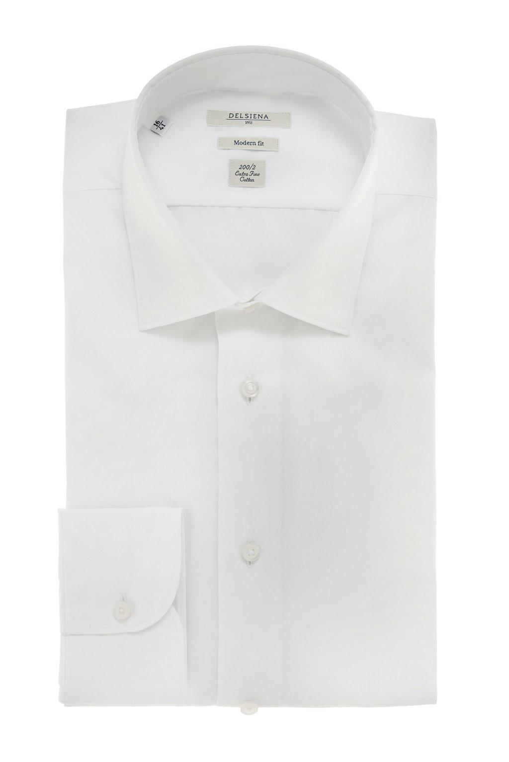 Camicia bianca Delsiena Extrafine cotton