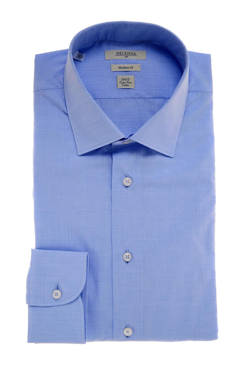 Camicia Delsiena azzurra P/E2017