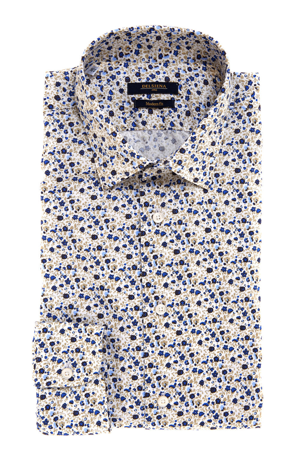 Camicia fantasia floreale Delsiena