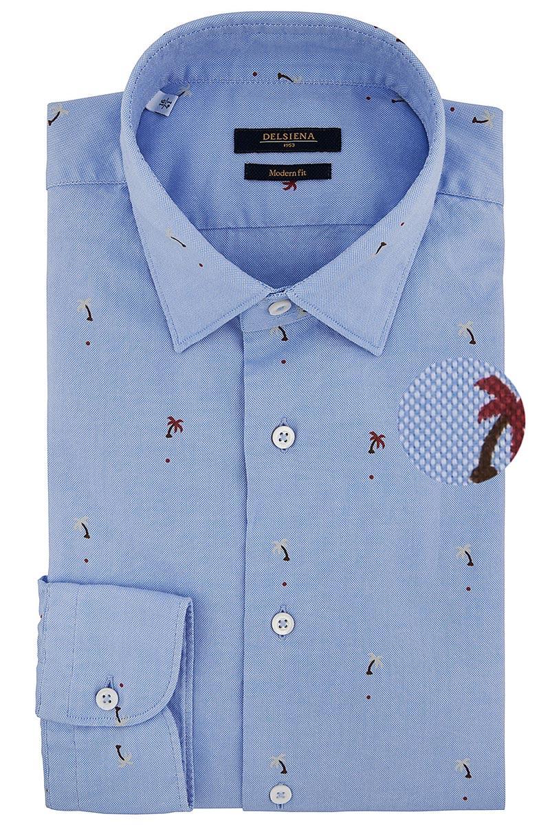 camicia delsiena palme