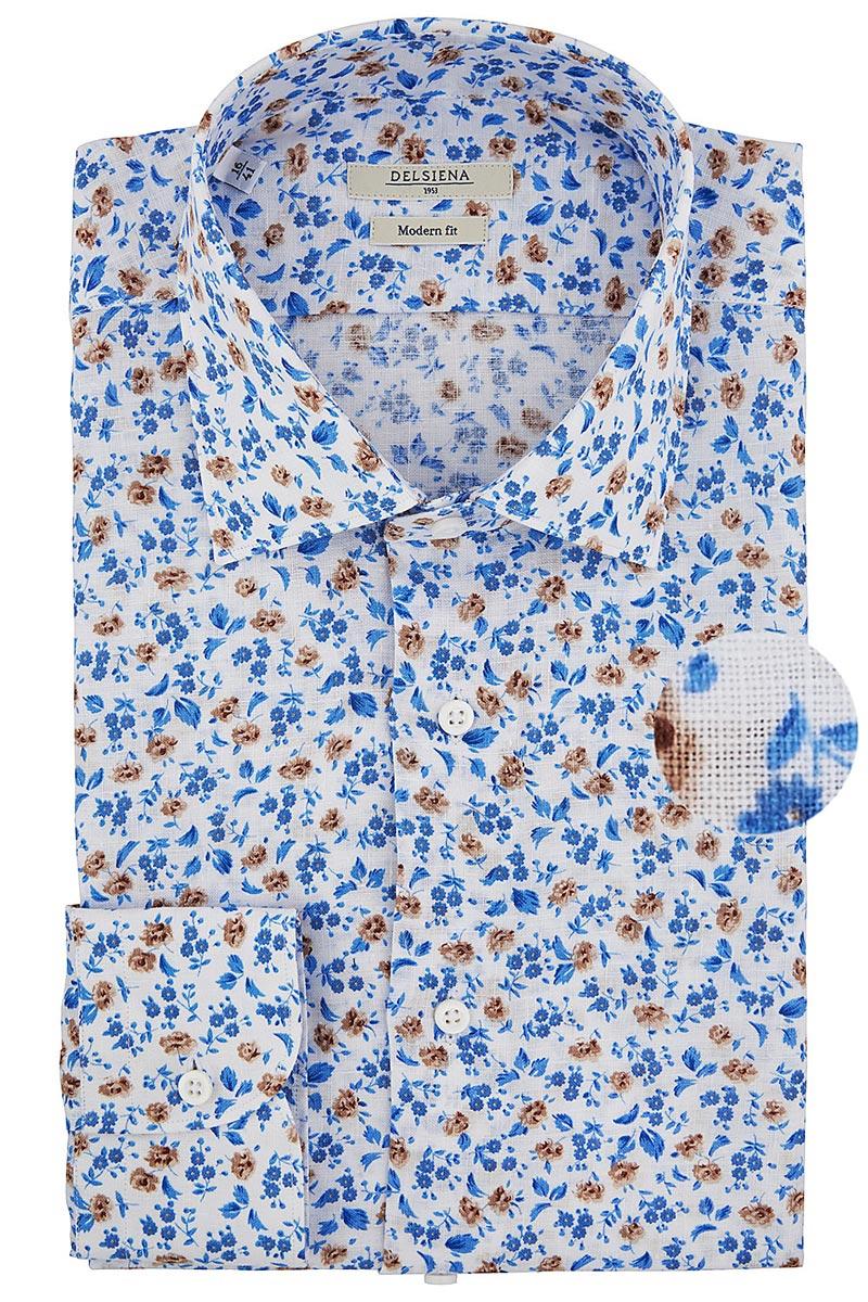 camicia floreale delsiena