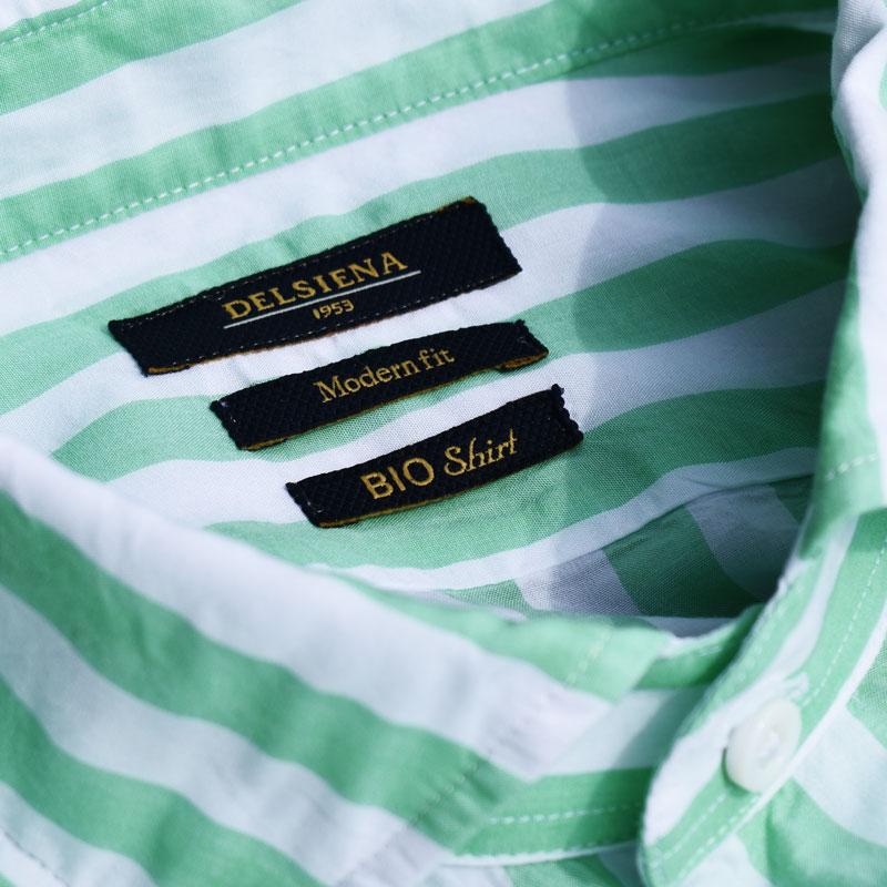 La camicia Delsiena Bio