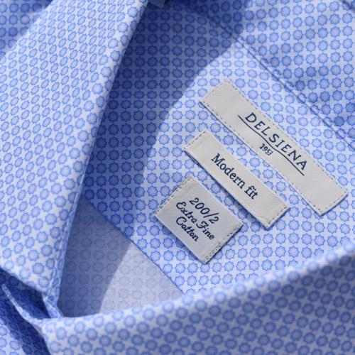 Camicia Delsiena 200/2 Extra Fine Cotton
