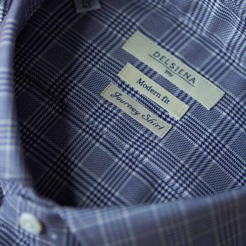 Camicia da uomo con tessuto no stiro